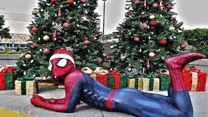 spiderman christmas gifts ft hulk spider man opening surprise