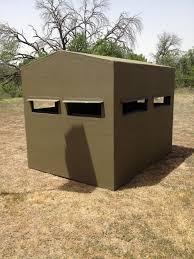 looking for a 4x6 fiberglass blind blinds u0026 feeders texas