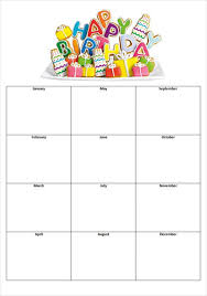 birthday list template budget template free