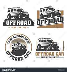 land rover logo vector template off road car logo offroad stock vector 762520984