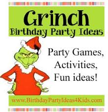 grinch party ideas gs xmas lock in pinterest grinch party
