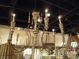 Swedish Chandelier Swedish White Wood Chandelier Medium The Designer Insider