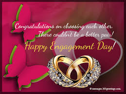 Congratulations On Engagement Card Engagement Card Messages 365greetings Com