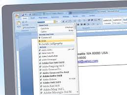 Office 2007 Resume Templates Word 2010 Resume Templates Saneme