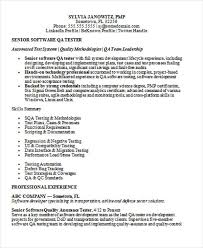 Software Testing Resume Samples For Experienced by Resume Formatting Software Latest Format For Resume Best Resumes