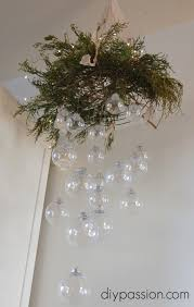 clear ornament hanging chandelier clear ornaments hanging