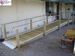 Wheelchair Ramp Handrails 13 Best Ramps Images On Pinterest Handicap Ramps Wheelchair