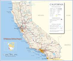 Map Of Arizona And California by Sacremento Ca Map