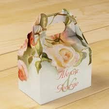 wedding favor box vintage painting of roses wedding favor box zazzle