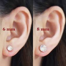 bridal clip on earrings swarovski invisible clip on earrings non piered earrings