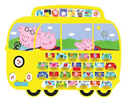 peppa pig pp01 alphaphonics campervan electronic toy peppa pig