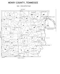 Tennessee County Map by Tennessee Sharing