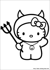 kitty color book coloring book