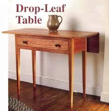 Drop Leaf Table Plans Drop Leaf Dining Table Plans Furniture Plans And Projects