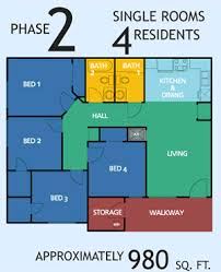 university village rates and floor plans