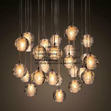 Bocci Pendant Lights Modern Led Pendant Light With Globes And Bocci Style Light