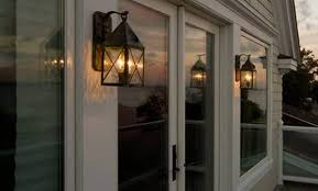 traditional outdoor lighting website with photo gallery exterior