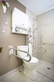 bathroom accessible university a residential bathroom toilet area featuring drop down grab bars