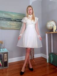 70s cream wedding dress rustic wedding dress cream lace wedding