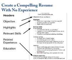 Resume For No Experience Template 5 Common Fundraising Resume Mistakes