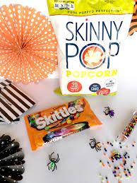 bellagrey designs boo tastic halloween popcorn with skinnypop popcorn
