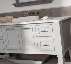 beach style bathroom design weathered wood vanities u0026 cabinets
