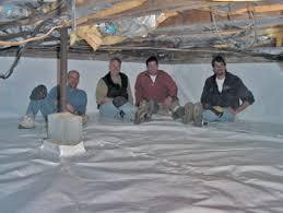 crawl space repair in ohio crawl space moisture in