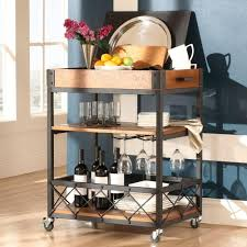 Dining Room Cart by Wine Carts And Storage Bar Cabinets U0026 Carts Kitchen U0026 Dining
