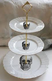 3 tier wedding cake stand 3 tiered skull cake stand cake stand