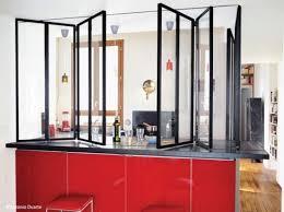 fermer une cuisine ouverte cuisine ouverte et fermée la verrière mi hauteur cuisine ouverte