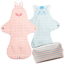 Cloth Diaper Starter Kit Hestaorganic Pads Starter Kits Reusable Cloth Pads U0026