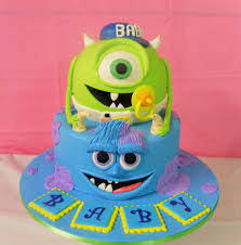 inc baby shower monsters inc baby shower cake s heavenly cakes