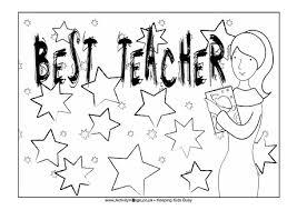 teacher appreciation colouring pages
