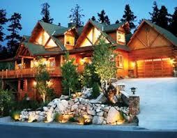 cabin style homes big log homes
