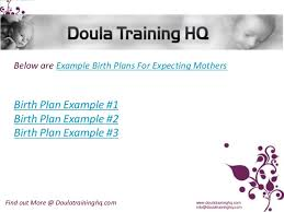 example birth plans for expecting mothers birth plans i would