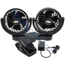 12 volt clip on fan rpsc8572 road pro 12 volt dual fan with mounting clip 12 volts plus