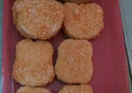 membuat nugget ayam pakai tepung terigu resep nugget ayam simple oleh lisna yulianti cookpad