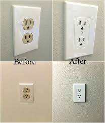 turn light socket into outlet easy electrical outlet cover tip to fix mismatched electrical