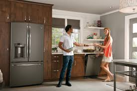 kitchen appliance colors ge s new slate finish joins stainless as premium appliance option