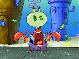 image mr krabs in free samples 25 png encyclopedia spongebobia