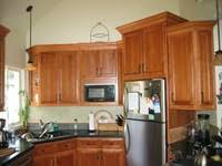 Stained Hickory Cabinets Creative Home Remodeling Kitchens