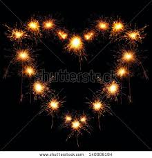heart shaped sparklers fireworks heart shaped stock images royalty free images vectors