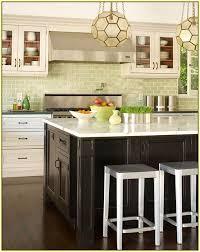 green subway tile kitchen backsplash green subway tile backsplash kitchen home design ideas