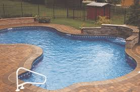 pool backyard swimming pool ideas alongside bricks edging pool