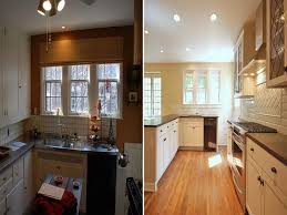Kitchen Cabinets Before And After Surprising Small Kitchen Renovations Before And After Painting