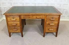 Solid Oak Office Desk Solid Oak Desk Outstanding Designer Wood Panel Top And Legs For