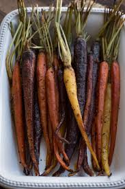 thanksgiving side dish honey chipotle apricot roasted carrots
