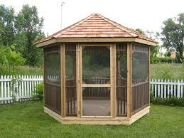 Backyard Screen House by An Easy Way To A Better Camping Experience Small Gazebo