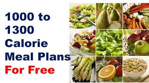 does 1000 calorie diet plan work for weight loss 1000 calorie