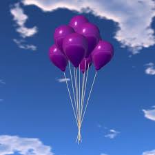 bunch balloons second marketplace balloon bunch purple copy xntra
